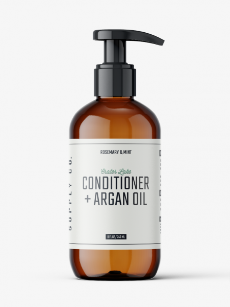 CONDITIONER WITH ARGAN OIL - ROSEMARY AND MINT