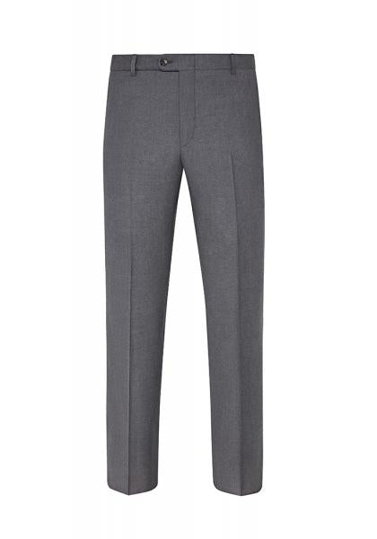 GREY TRAVEL TWILL TROUSERS