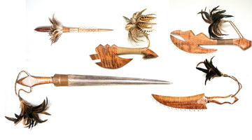 Koa Weapons of Ancient Hawaiians