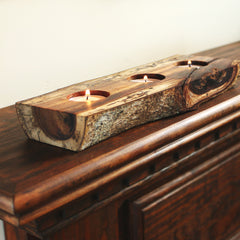 Koa Wood Votive Holder