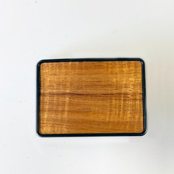 Koa Belt Buckle