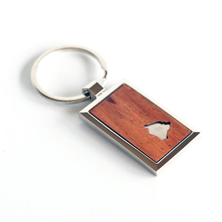 Big Island Koa Wood Key Chain