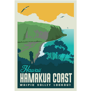 Hawaii's Hamakua Coast 4 x 6 Postcard