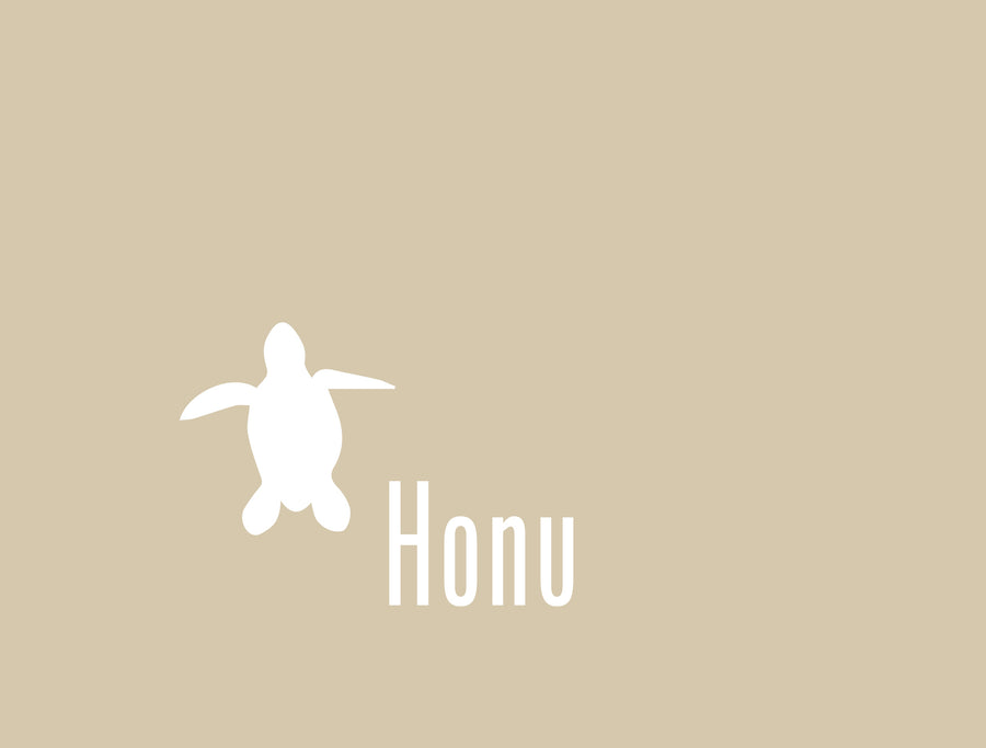 Honu Folded Card