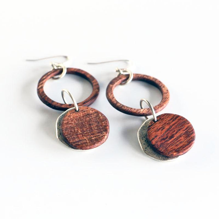 Karma Circle Earrings