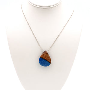 Koa Resin Necklace
