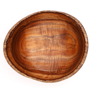 Hawaiian Koa Wood Bowl Live Edge