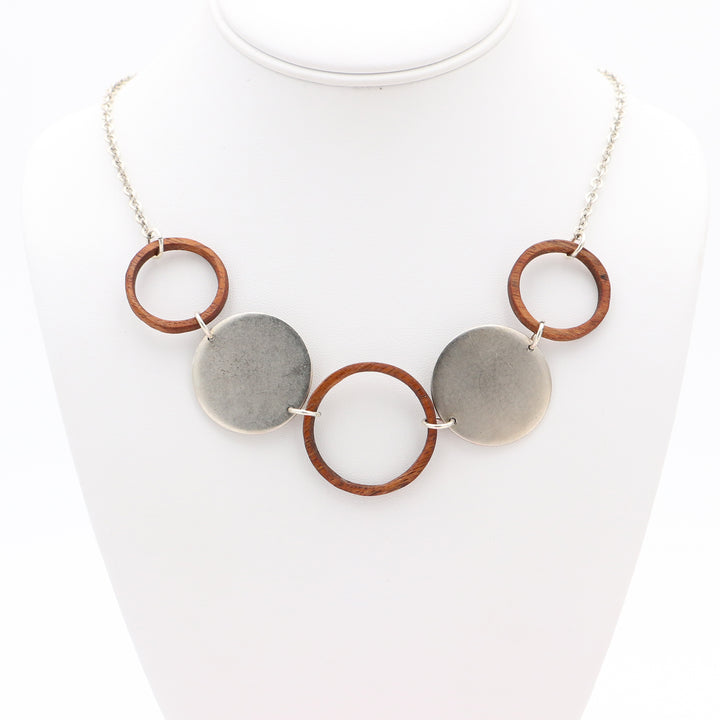 Koa Circle Necklace