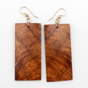 Koa Wood Earrings