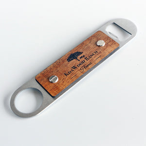 Manta Koa and Stainless Steel Bottle Opener