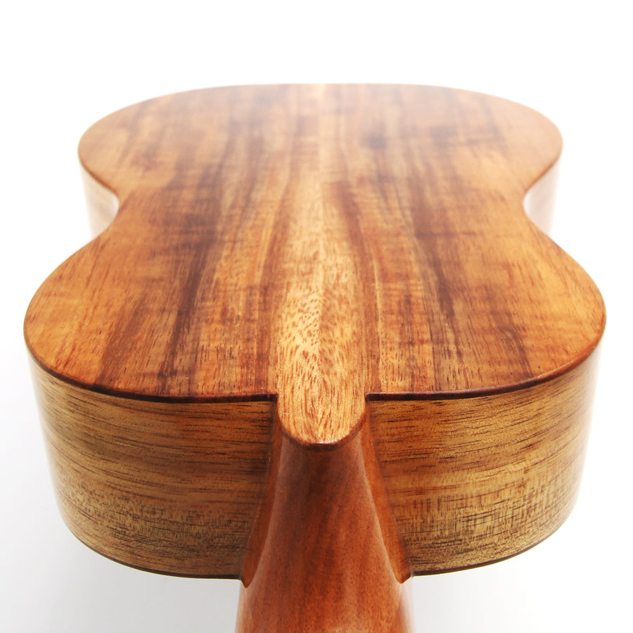 Hawaiian Koa Ukulele Back