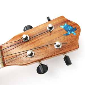Hawaiian Koa Ukulele Honu Inlay