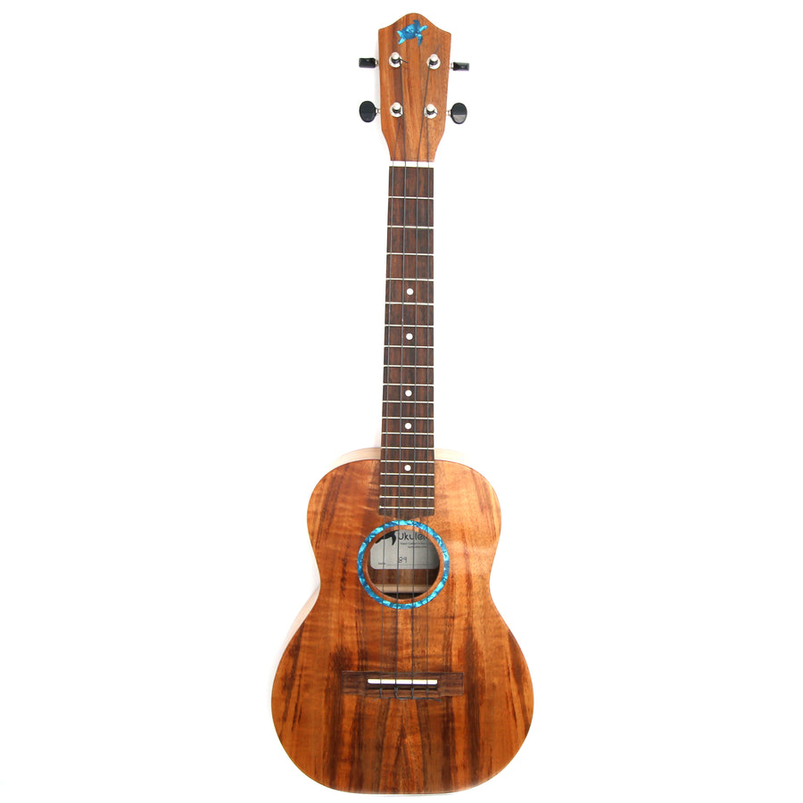 Hawaiian Koa Wood Ukulele - Tenor