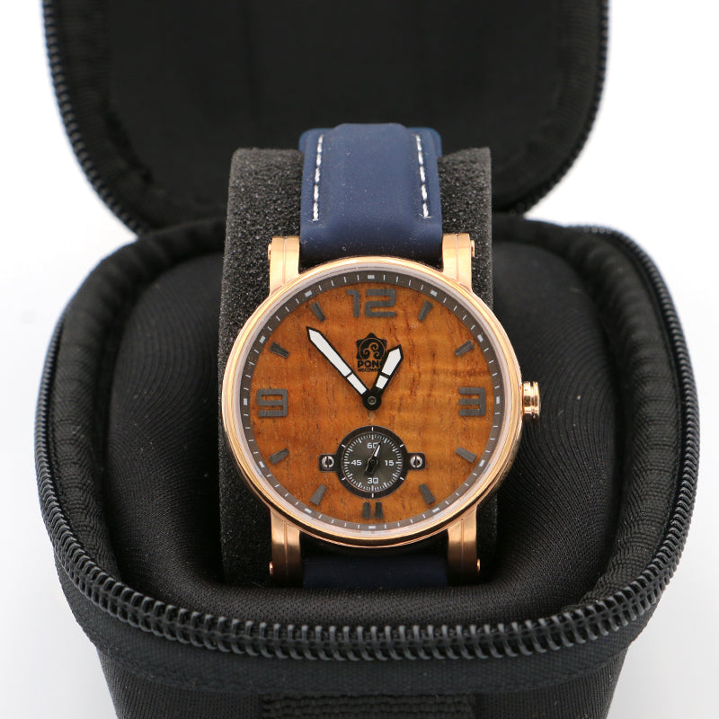 Koa Wood Watch