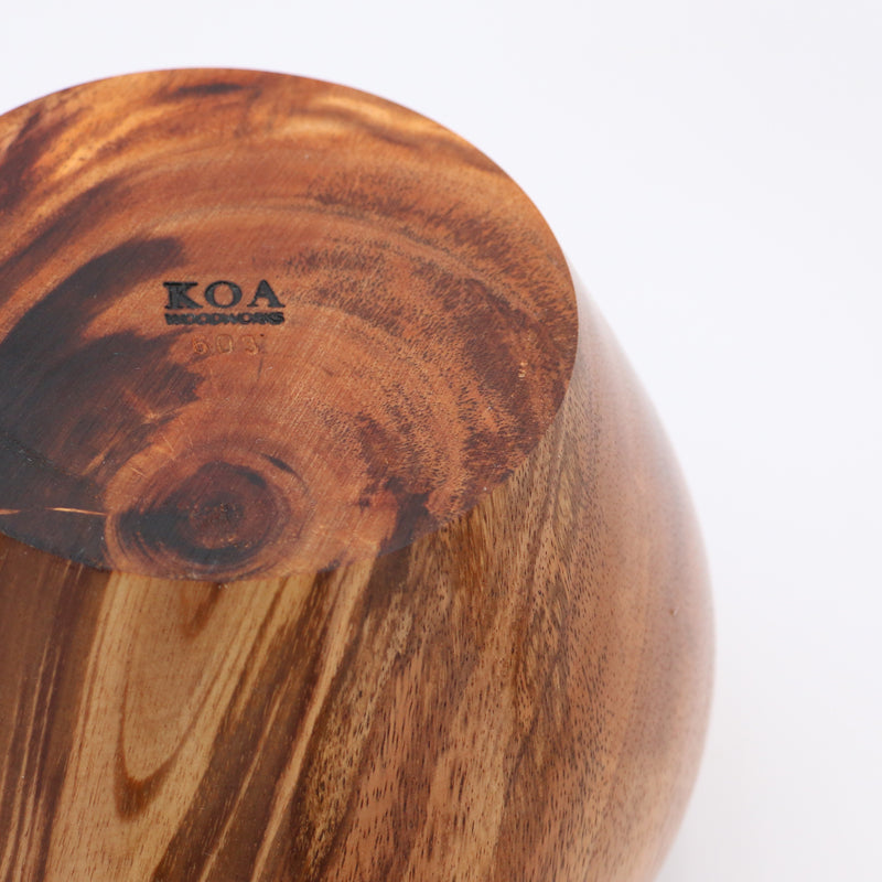 Koa Wood Vessel #603A