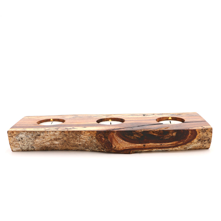 Koa Branch Votive Candle Holder - Large