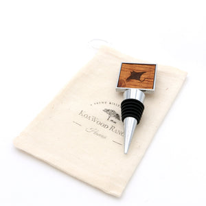Koa Wood Wine Stopper