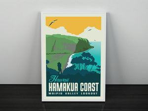 Hawaii's Hamakua Coast 12 x 18 Poster