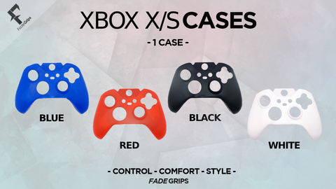 Xbox X/S Controller Cases (Solid Colors)