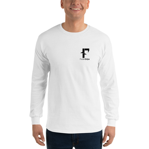 FadeGrips Long Sleeve T-Shirt (White)