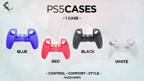 PS5 Controller Cases (Solid Colors)