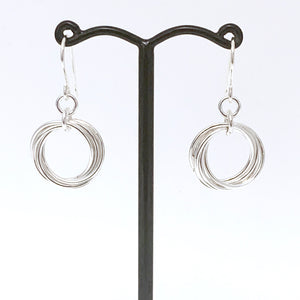'Alexis' Silver earrings