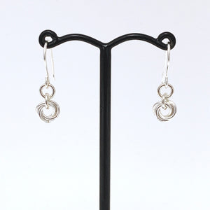 'Bella' 1 Silver earrings