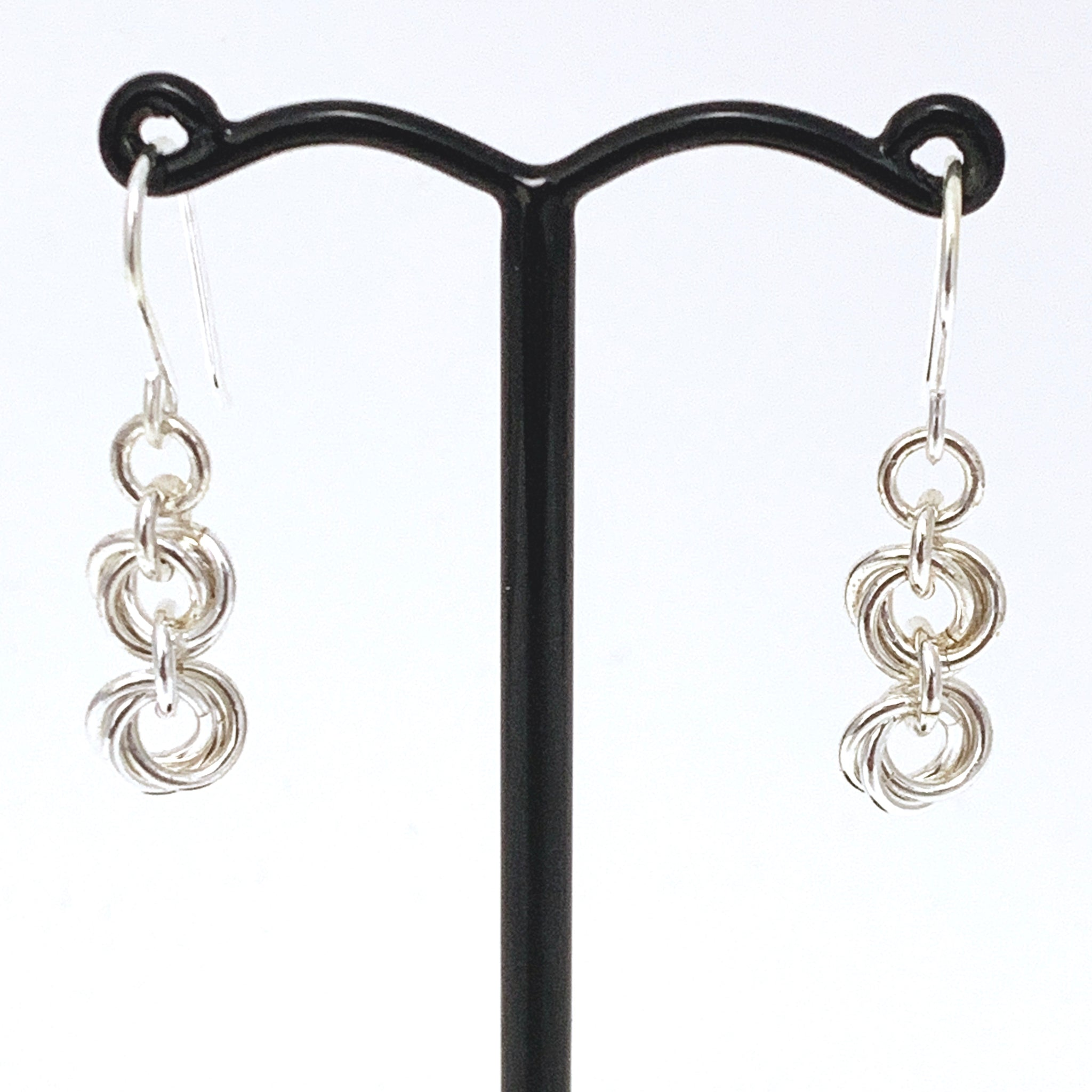 'Bella' 2 Silver earrings