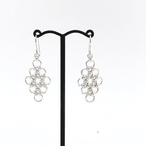 'Bethany' Silver earrings