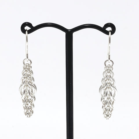 'Charlotte' Silver earrings
