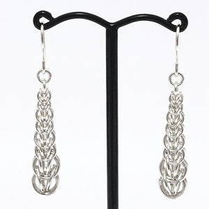 Full Persian double graduated earrings