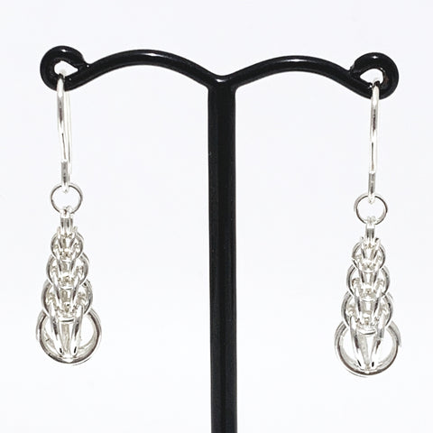 Full Persian single graduated earrings