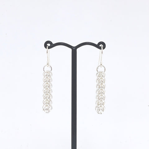 'Kat' 7 Silver earrings