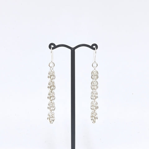 'Chloe' 5 Silver earrings