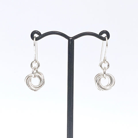 Love Your Sister Mobius earrings