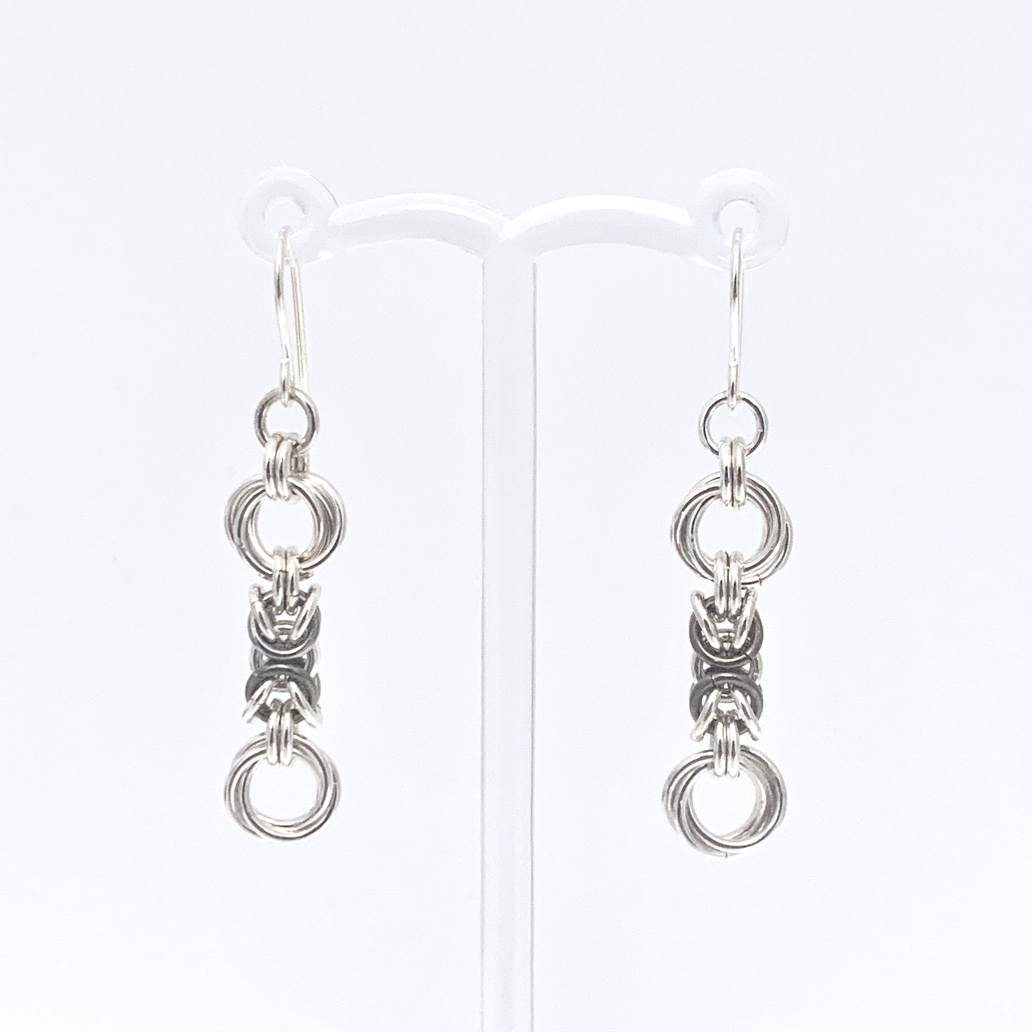 'Lilly' Fawn & Silver earrings (limited)