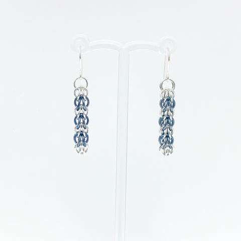 'Elle' 7 Faded Jeans & Silver earrings