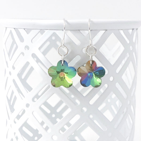 Swarovski Flower earrings - Fundraiser for Salvos