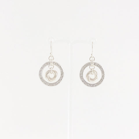 'Jane' 29 Swarovksi & Silver earrings (limited)