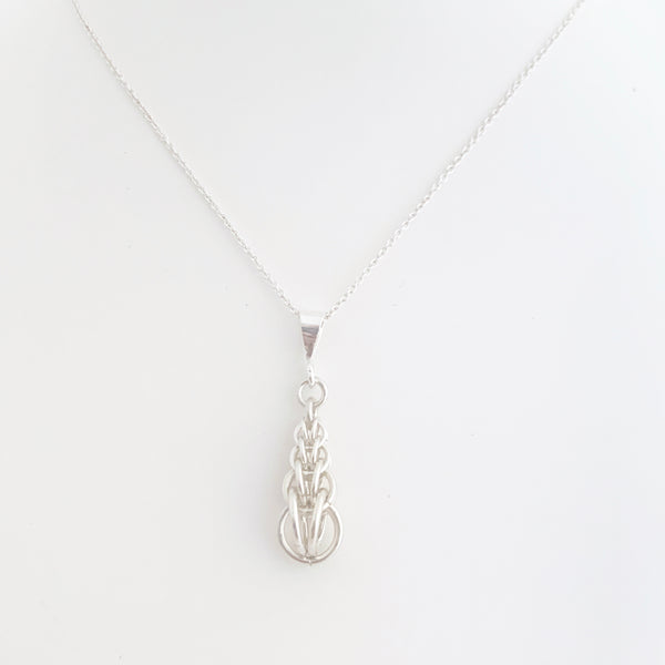 'Jane' 27 Silver pendant (limited)