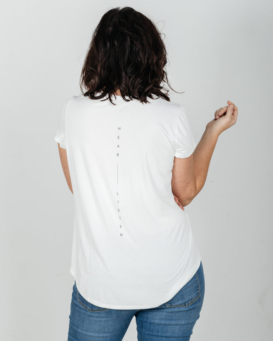 The Elizabeth Bamboo tee