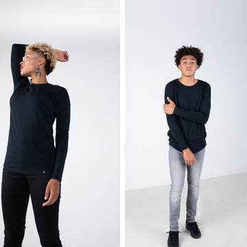The Noun: Black Bamboo Long Sleeve