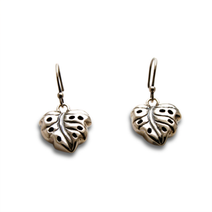 Monstera Charm Earring Single