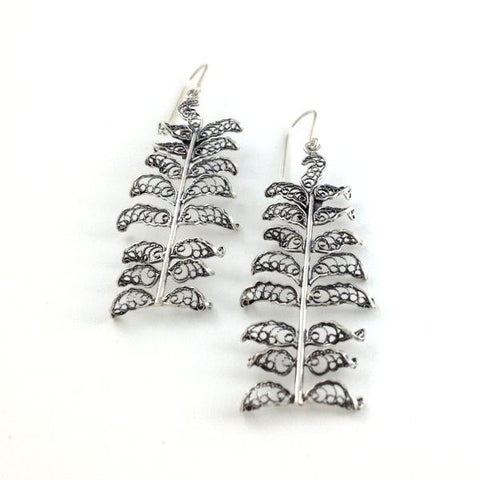Kupukupu Earrings Long