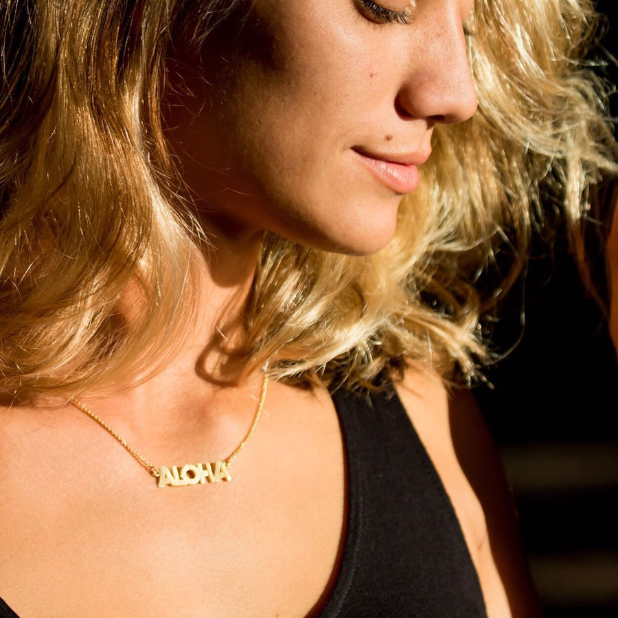 Aloha Necklace - Vermeil