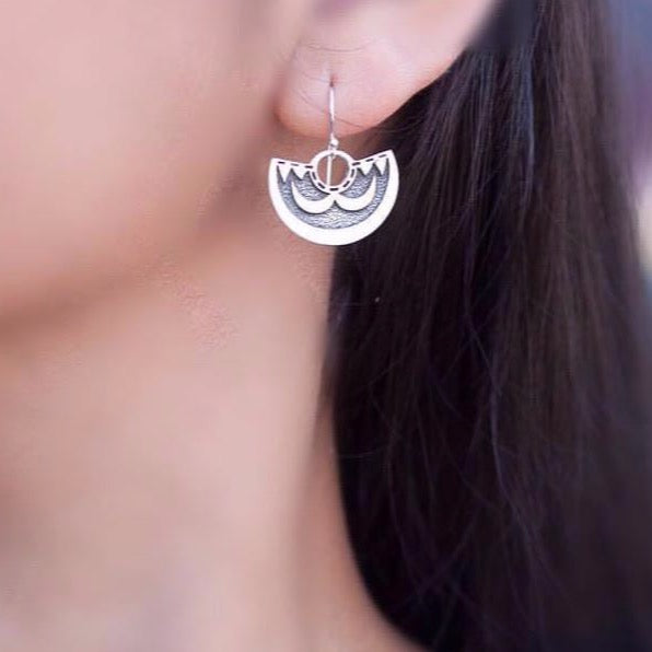 Kamehameha 'Ahu'ula Earrings