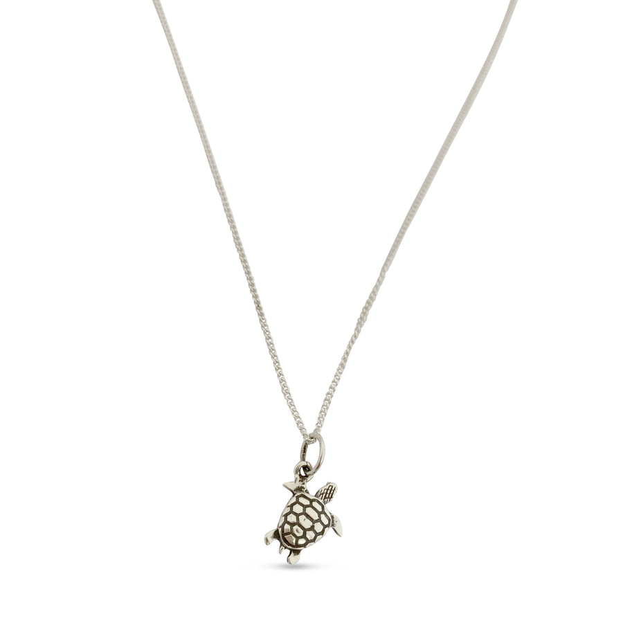 Mini Charm Turtle Necklace