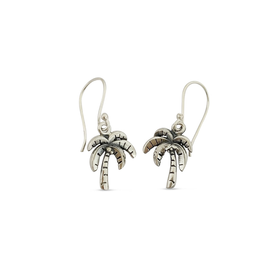 Mini Charm Palm Tree Earrings