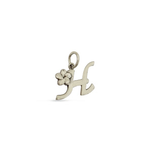 Plumeria Letter Charms