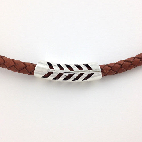 Kapa Leather Bracelet Light